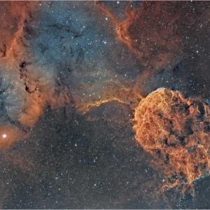 IC443 The jellyfish nebula Swagastro Winner